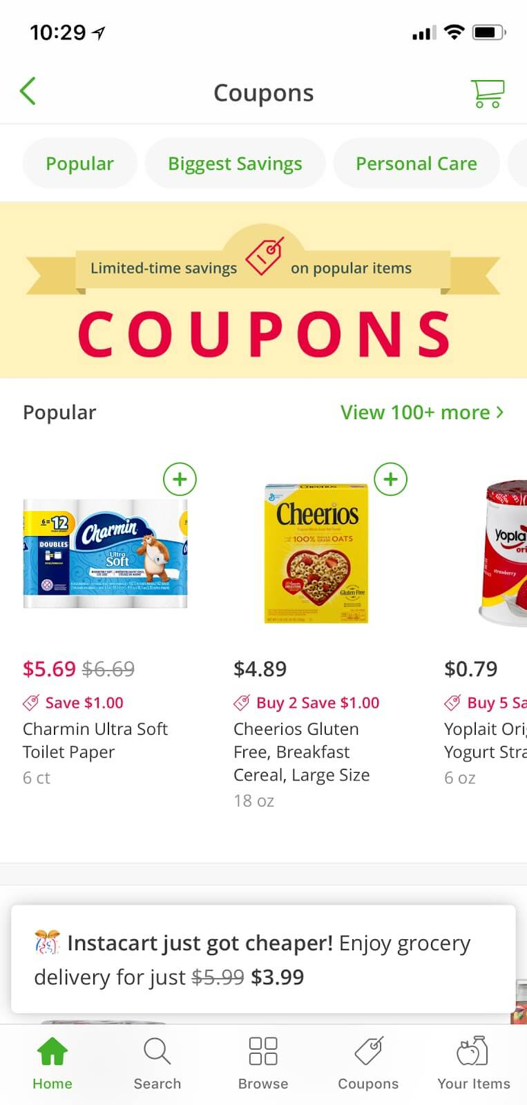 Try Out Grocery Home Delivery With an Instacart Promo Code