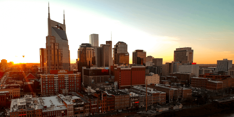Nashville skyline: Best cities for gig economy jobs in 2019