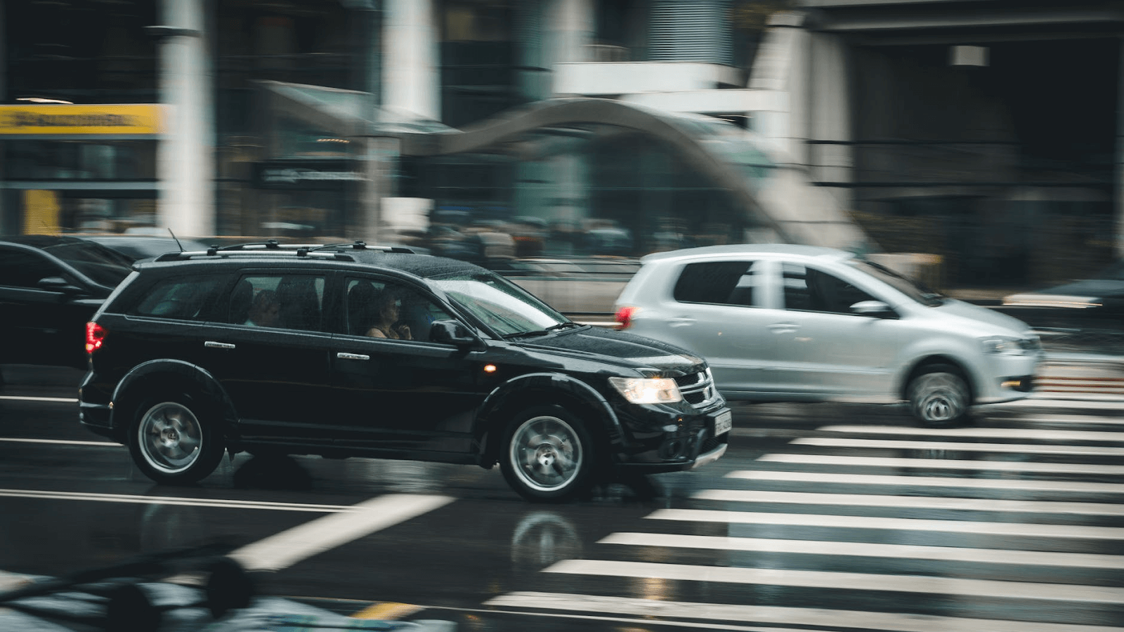 What is UberX: cars driving on a city street