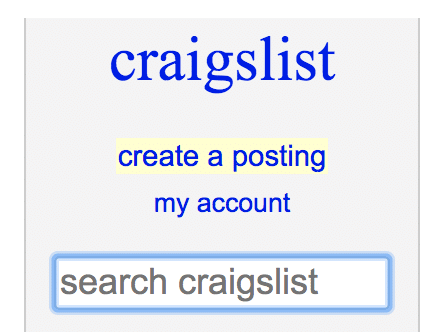 How to post on Craigslist: Create a posting