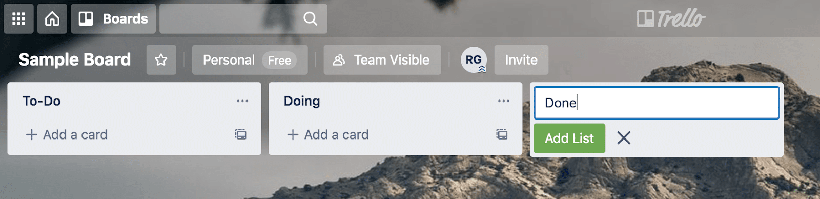 The Ultimate Guide to Trello: Creating a list